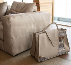 Итальянские аксессуары для интерьера - Интерьерная сумка Jane B07 фабрика Gamma Arredamenti