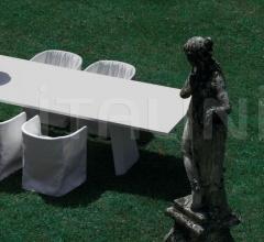 Итальянские уличные столы - Стол обеденный Wedge фабрика Living Divani