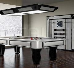 Итальянские бильярдные, игровые столы - Бильярдный стол AMERICAN POOL TABLE фабрика Vismara Design