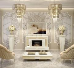 Тумба под TV TV-LIFT & FIRE 158 ART DECO фабрика Vismara Design