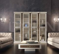 Библиотека FOUR BASE BOOKCASE фабрика Vismara Design