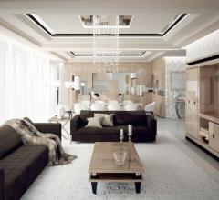 Двухместный диван OYSTER - 2P фабрика Capital Decor