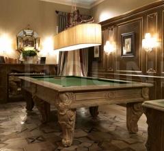 Итальянские бильярдные, игровые столы - Бильярдный стол 3385 BIL фабрика Savio Firmino