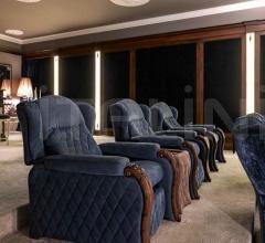 Итальянские кресла для домашнего кинотеатра - Кресло 3209 POL фабрика Savio Firmino