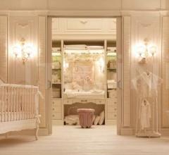 Итальянские кровати - Кроватка 3078 LET Q фабрика Savio Firmino