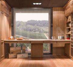 Винная комната Tuscany фабрика Castagna Cucine