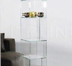 Книжный стеллаж Cubic glass фабрика Bonaldo