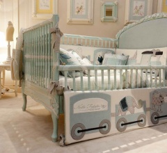 Итальянские кровати - Кроватка 3359 LET P фабрика Savio Firmino