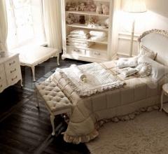 Итальянские кровати - Кровать 3078 LET H фабрика Savio Firmino
