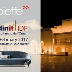 Vibieffe на IDF Oman 2017 - Итальянская мебель