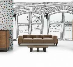 Трехместный диван X014 фабрика Vittorio Grifoni