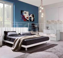 Кровать SU 195 фабрика Mobilificio Domus