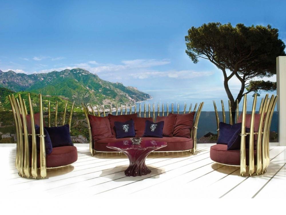 Кофейный столик Gorgona IPE Cavalli (Visionnaire)