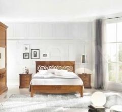 Кровать 6780/6790 фабрика Bruno Piombini