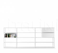 Книжный стеллаж Helsinki фабрика Desalto