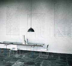Раздвижной стол Stilt Glass фабрика Desalto
