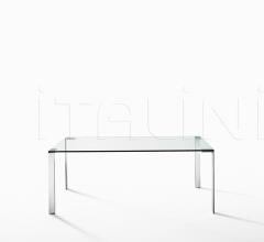 Стол обеденный Liko Glass фабрика Desalto