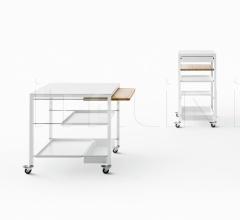 Сервировочный столик Helsinki trolleys фабрика Desalto