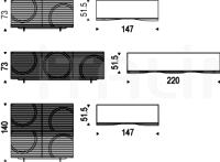 Буфет Luna Cattelan Italia