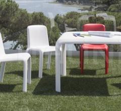 Стол обеденный Snow 301 фабрика Pedrali