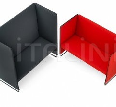 Двухместный диван Zippo ZIP2P/100 фабрика Pedrali