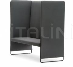 Двухместный диван Zippo ZIP2P/140 фабрика Pedrali