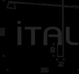 Торшер Libra Cattelan Italia