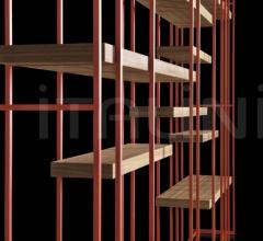 Книжный стеллаж Cage-B фабрика Henge