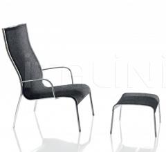 Кресло с пуфом Paso Doble фабрика Magis