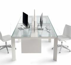 Итальянские столы для конференц зала - Cтол Koy System фабрика Gallotti&Radice