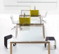Итальянские компьютерные столы - Компьютерный стол WGS Double фабрика Gallotti&Radice