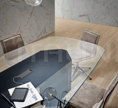Итальянские столы для конференц зала - Стол Akim System фабрика Gallotti&Radice
