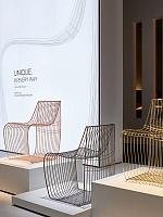 Первая международная награда кресла Sign Filo MDF Italia