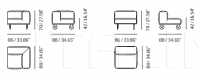 Модульный диван No Design Meritalia