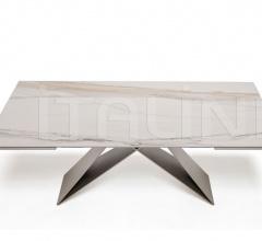 Раздвижной стол Premier Keramik Drive фабрика Cattelan Italia