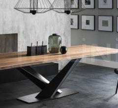 Стол обеденный Stratos Wood фабрика Cattelan Italia