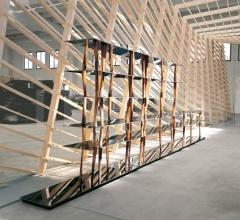 Книжный стеллаж Sendai фабрика Horm