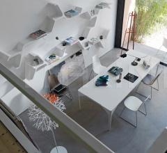 Книжный стеллаж Sinapsi фабрика Horm
