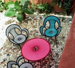 Итальянские стулья - Стул с подлокотниками Banjooli фабрика Moroso