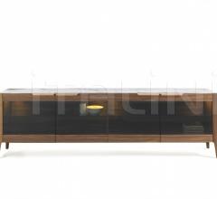 Итальянские буфеты - Буфет Atlante 4 glass фабрика Porada