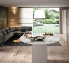 Итальянские кухонные гарнитуры - Кухня Kitchen_0389 фабрика Lago