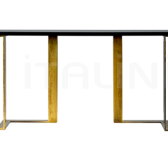 Консоль Black and Gold console фабрика Paolo Castelli