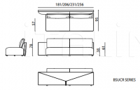 Модульный диван Bastian Still IPE Cavalli (Visionnaire)