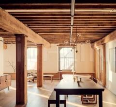 Стол обеденный Vertigo фабрика Mantellassi 1926