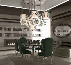 Стол обеденный Ghirigoro фабрика Mantellassi 1926
