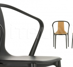 Belleville Armchair Leather