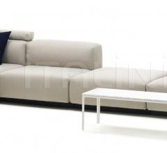 Soft Modular Sofa four-seater, platform, Chaise Longue