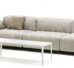Soft Modular Sofa Three-seater, platform