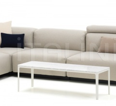 Soft Modular Sofa Four-seater, corner element, platform