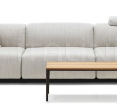 Soft Modular Sofa Three-seater